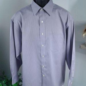 Men Tasso Elba L/S shirt. Size L